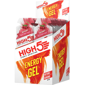 High5 Energy Gel Box 20x40g Berry